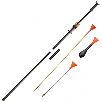 Two Piece 5ft Big Bore Blowgun (blaaspijp 150 cm)