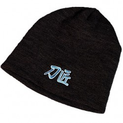 Cold Steel Knit Beanie (Black)